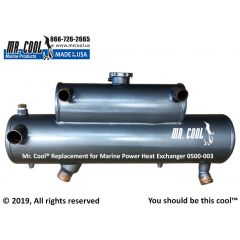 0500-003 Marine Power Heat Exchanger