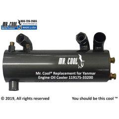 119175-33200 Yanmar Engine Oil Cooler
