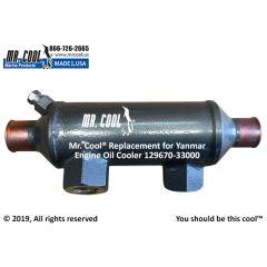 129670-33000 Yanmar 4JH3E Oil Cooler