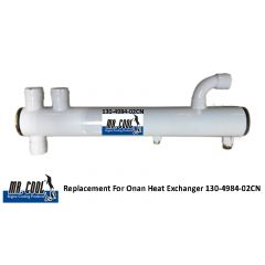 Onan Heat Exchanger 130-4984-02CN
