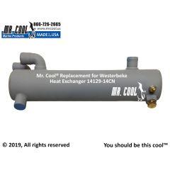 14129 -14CN Westerbeke Heat Exchanger