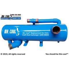 1699-08003 Chris Craft Heat Exchanger