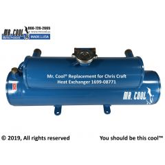 1699-08771 Chris Craft Heat Exchanger