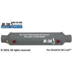 177524-04820 Yanmar Oil Cooler