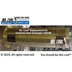 194728 Cummins Heat Exchanger