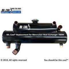 78094 Mercruiser Heat Exchanger