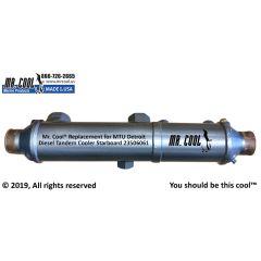 23506061 MTU Detroit Diesel Tandem Cooler Starboard