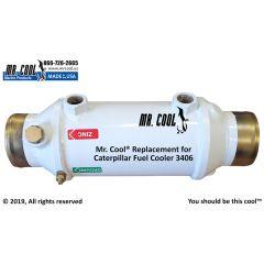 3406 Caterpillar Fuel Cooler