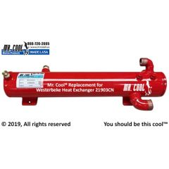 21903CN Westerbeke Heat Exchanger