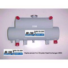 2350 Chrysler Heat Exchanger