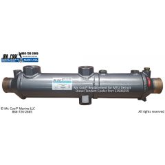 23506059 MTU Detroit Diesel Tandem Cooler Port