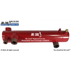 24308CN Westerbeke Heat Exchanger