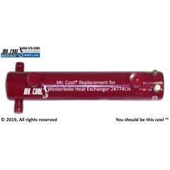 24774CN Westerbeke Heat Exchanger