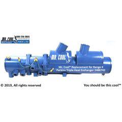 2486742 Range 4 Perkins Triple Heat Exchanger