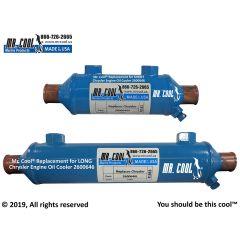 2600646 LONG Chrysler Engine Oil Cooler