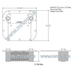 2930012552952 MTU Detroit Diesel Plate Cooler