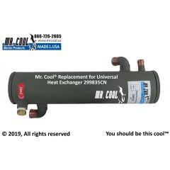 299835CN Universal Heat Exchanger