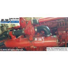 2C246 Lehman Heat Exchanger installed