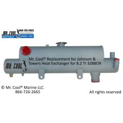 3288CN Johnson & Towers Heat Exchanger 8.2
