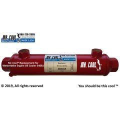 34681 Westerbeke Engine Oil Cooler