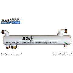3866719CN Cummins Heat Exchanger