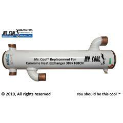3897168CN Cummins Heat Exchanger