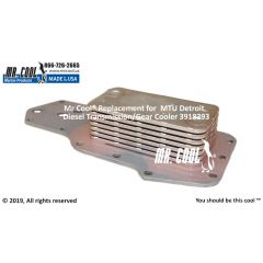 3918293 MTU Detroit Diesel Transmission/Gear Cooler