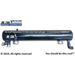 8M0095815 Mercruiser Heat Exchanger - 3.5 inch diameter