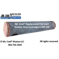3 HM 25F Core Yanmar Heat Exchanger
