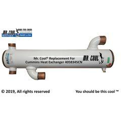 4058345CN Cummins Heat Exchanger