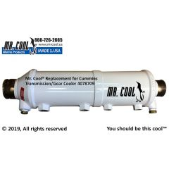 Cummins Transmission/Gear Cooler 4X18 4078709