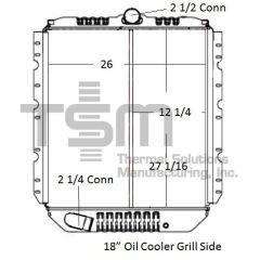 12981S International/Navistar Radiator