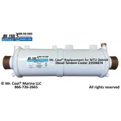 23504784 MTU Detroit Diesel Heat Exchanger
