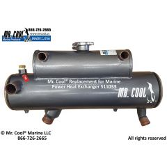 511033 Marine Power Heat Exchanger