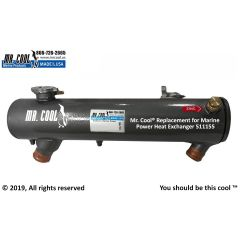 511155 Marine Power Heat Exchanger