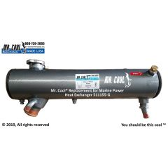 511155-G Marine Power Heat Exchanger