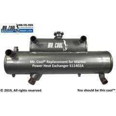 511402A Marine Power Heat Exchanger