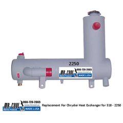 2250 Chrysler Heat Exchanger