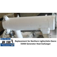 Northern Lights John Deere 55KW Generator Heat Exchanger
