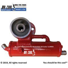 11199CN Westerbeke Oil Cooler