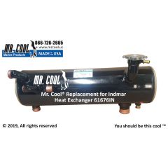 61676IN Indmar Heat Exchanger