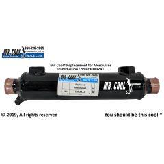 63832A1 Mercruiser Transmission Cooler