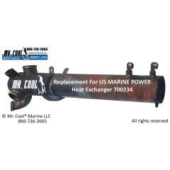 700234 US MARINE POWER Heat Exchanger