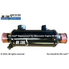 806426T Mercruiser Engine Oil Cooler
