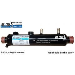 806428T Mercruiser Tandem Oil Cooler