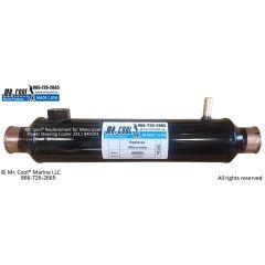 849291 Mercruiser Oil Cooler 2X9