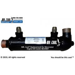 861946T Mercruiser Engine Oil Cooler
