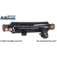 863842T02 Mercruiser Transmission/Gear Cooler