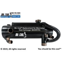 864395T01 Mercruiser Heat Exchanger