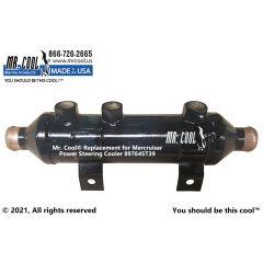 897645T39 Mercruiser Power Steering Cooler